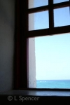 Punta Celerain Lighthouse Window View